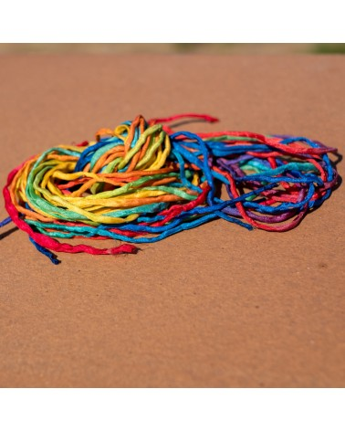 Pack of 10 rainbow cords